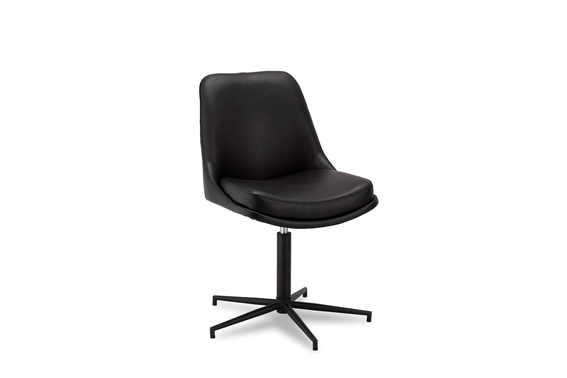 Designová stolička Aeneas, černá