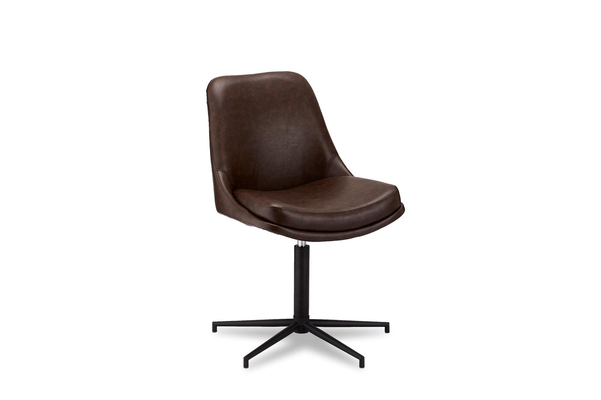 Designové židle Aeneas tmavohnědá