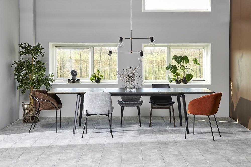 Dizajnová stolička Albee, medená
