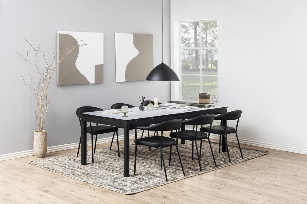 Designové židle Alder černá