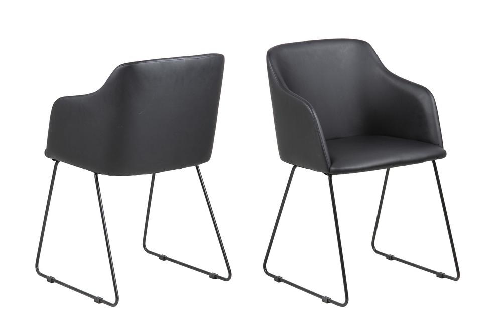 Designové židle Aleem černá