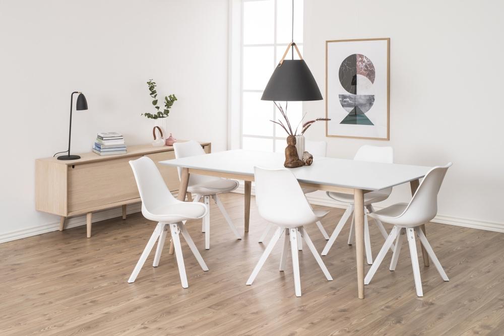 Designové židle Nascha bílá