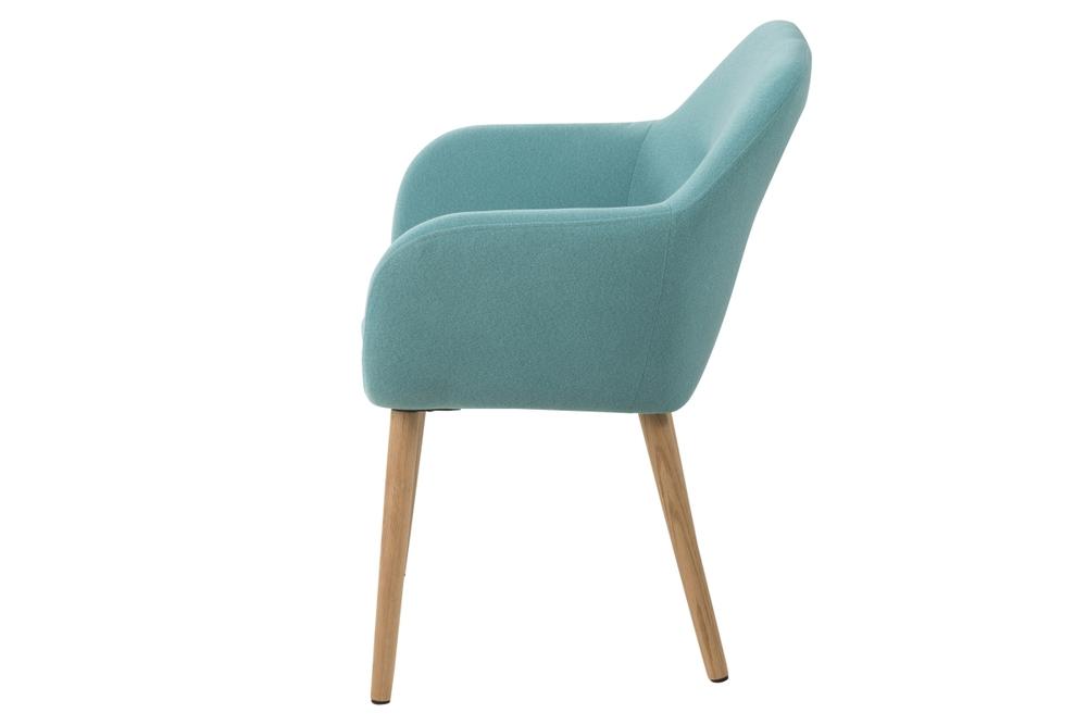 Dizajnové židle Nashira azúrová