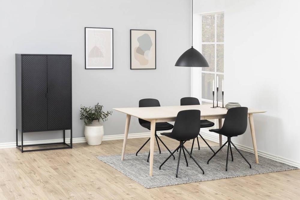 Dizajnová stolička Nemy, čierna