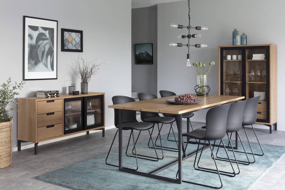 Designová stolička Nerilla černá
