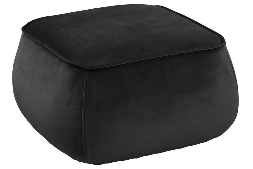Designová taburetka Nara šedo hnědá kostka