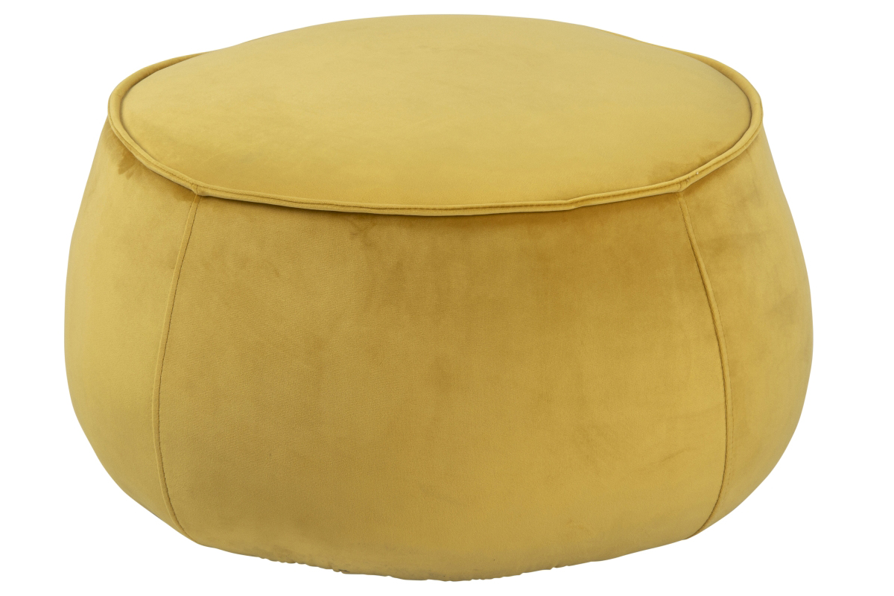 Designová taburetka Nara žlutá