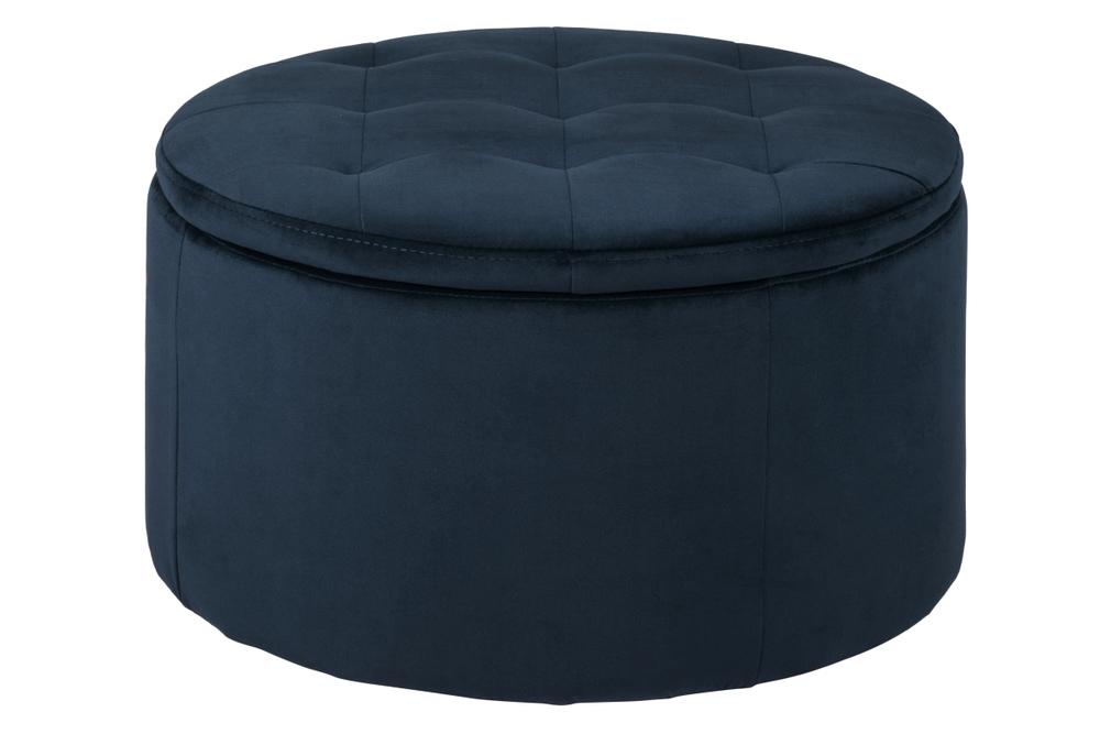 Designová taburetka Nasima navy modrá