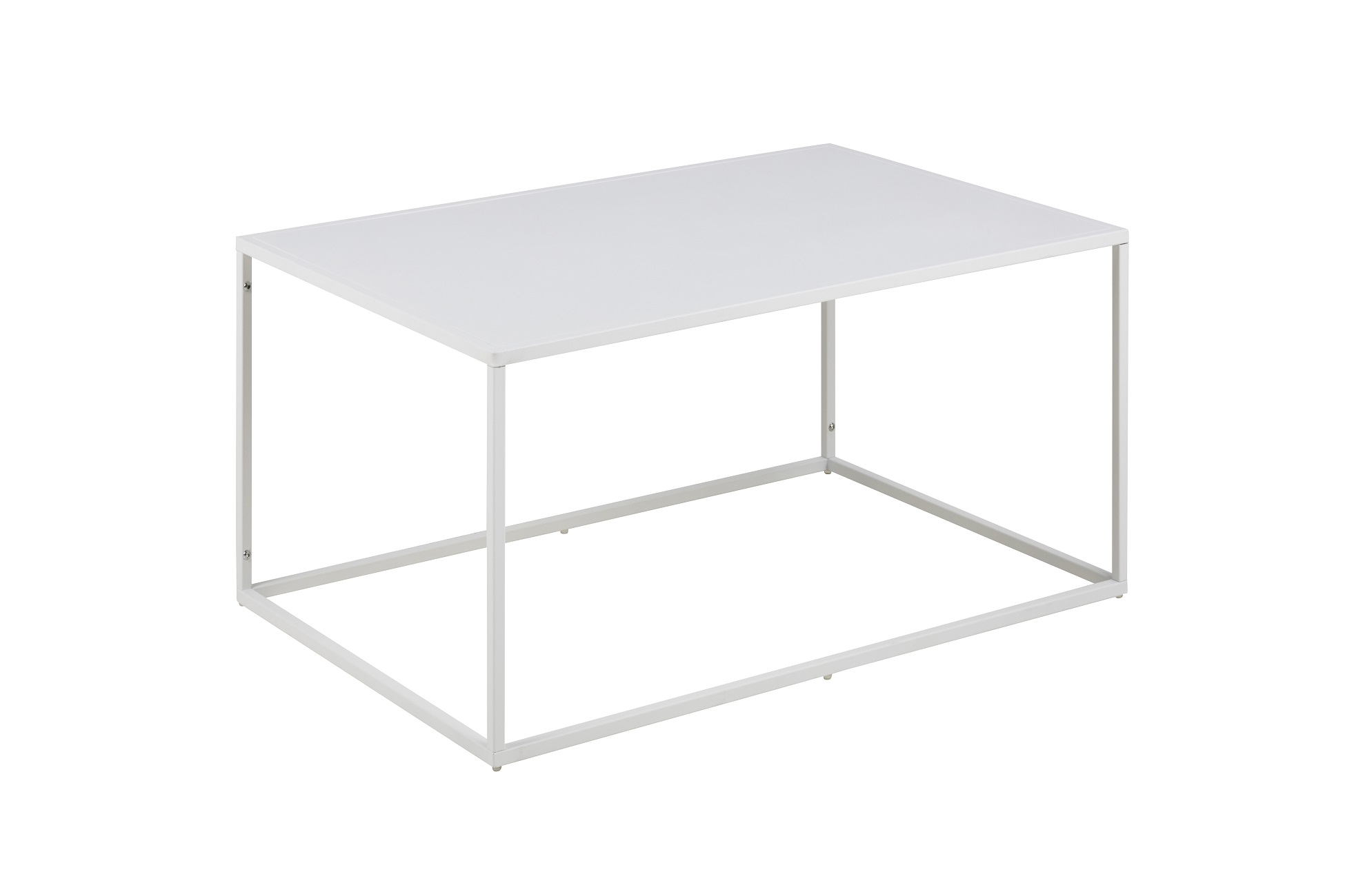 Designový konferenční stolek Addax 90 cm bílá