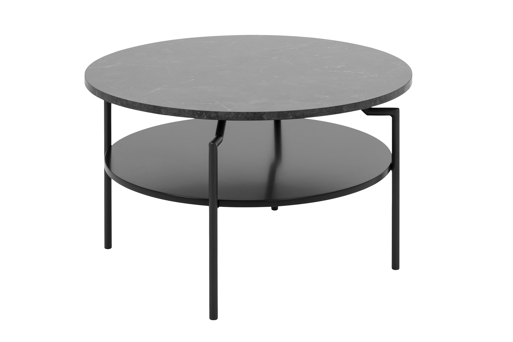 Dizajnový konferenčný stolík Aitor, čierna