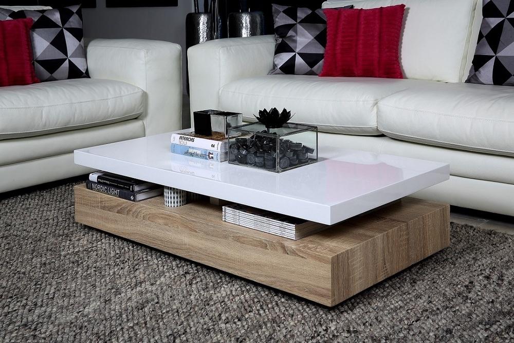 Designový konferenční stolek Akira 117 cm