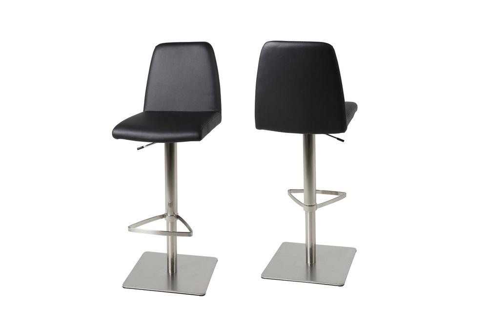Elegantní barová židle Alain černá