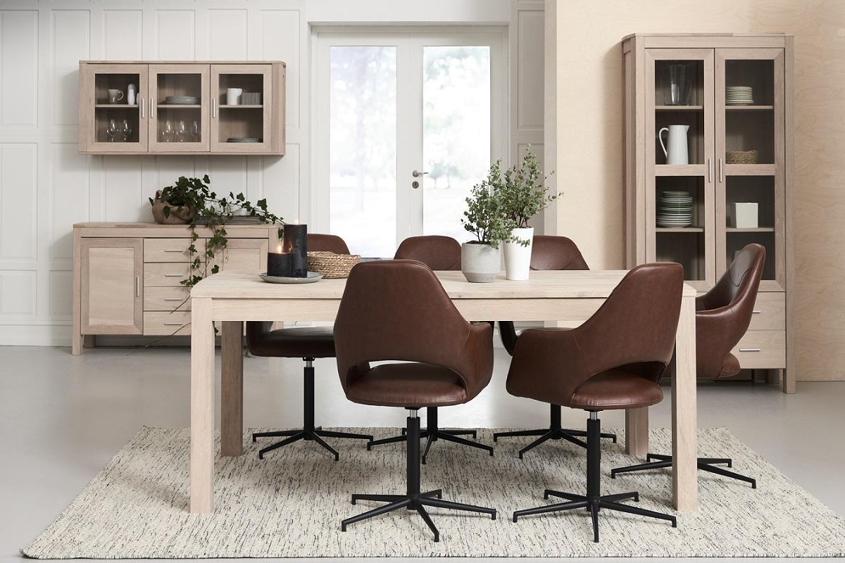 Elegantní jídelní stůl rozkládací Aang, 200 - 300cm