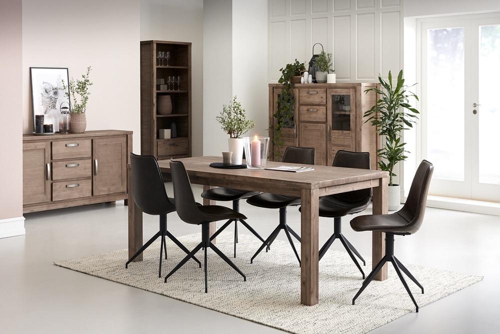 Elegantní jídelní stůl rozkládací Aarav, 200 - 300cm