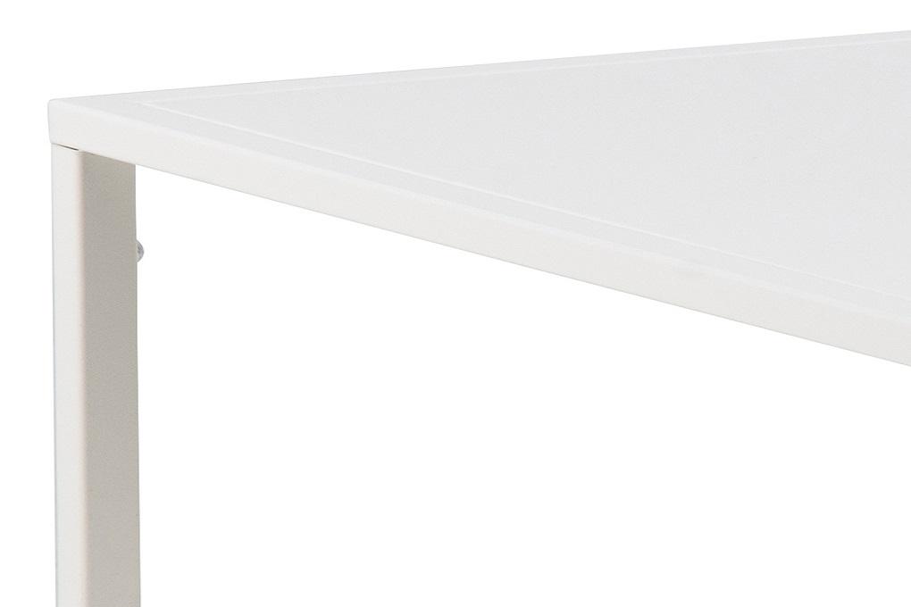 Elegantní konferenční stolek Addax 60 cm bílá