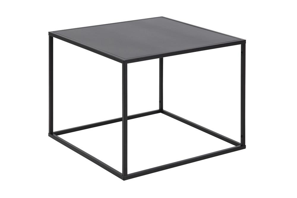 Elegantní konferenční stolek Addax 60 cm černá
