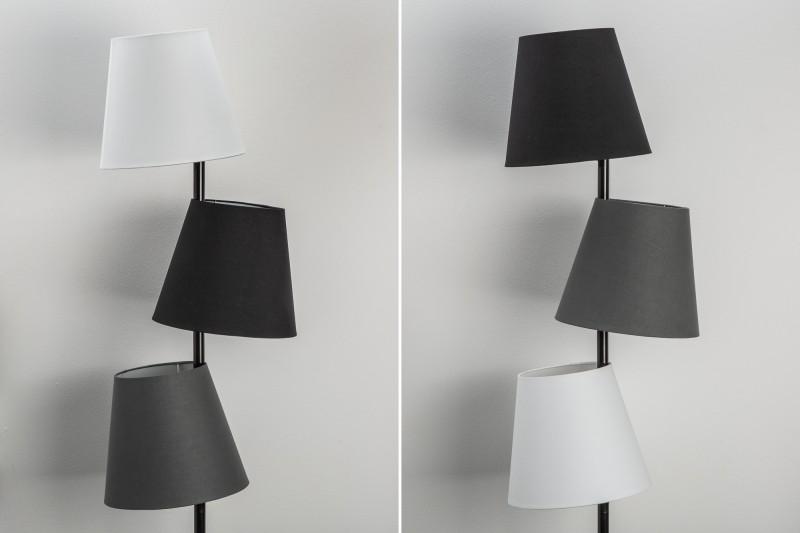 Stojací lampa Shadow, 163 cm, černá