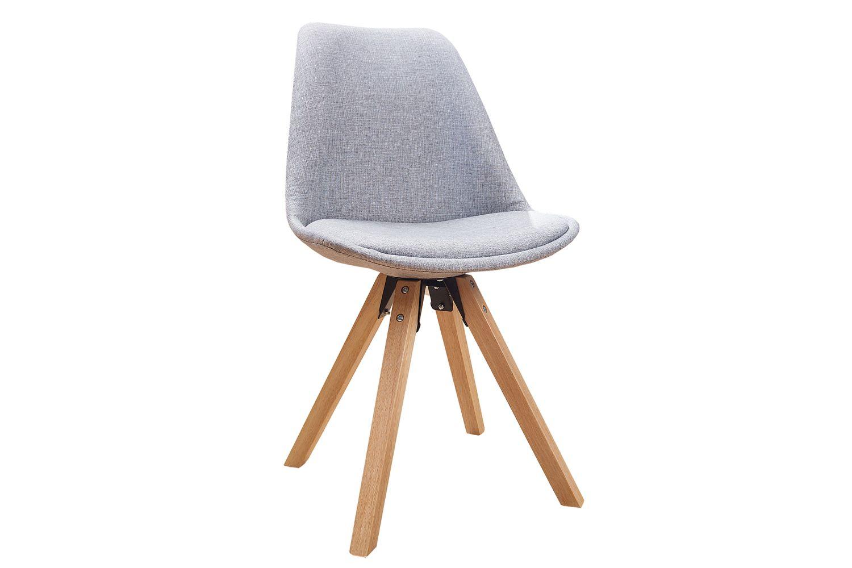 Židle Sweden NewLook světle šedá