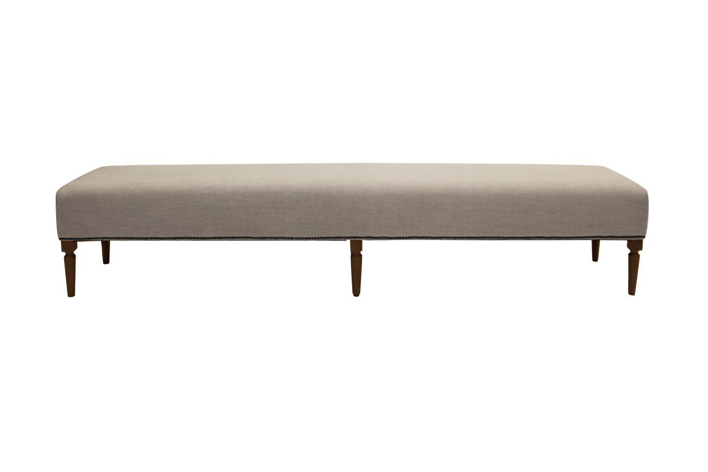 Dizajnová lavice Andrea 240 cm / kávová
