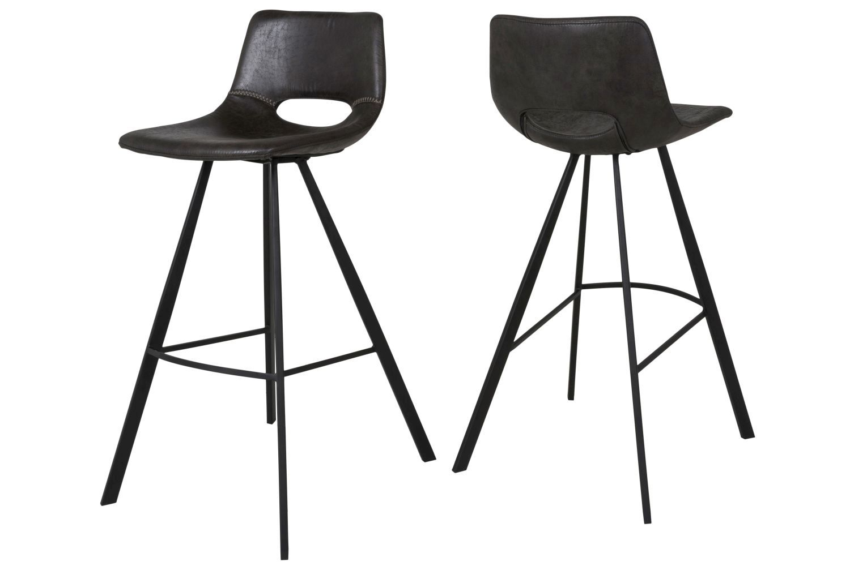 Barová židle Izabella 98 cm / černá