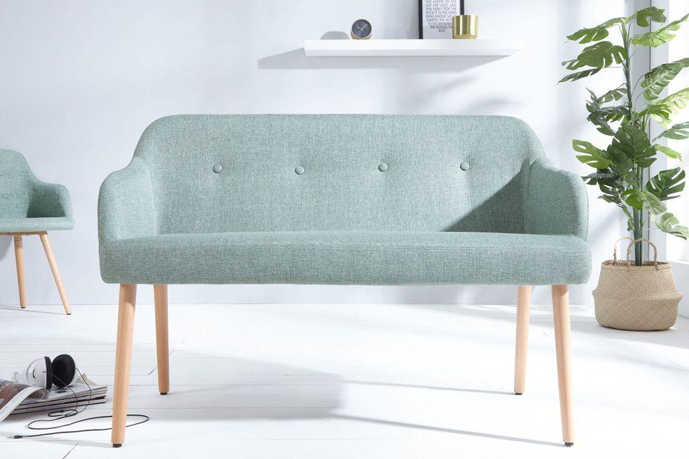 Dizajnová lavice Sweden limetková