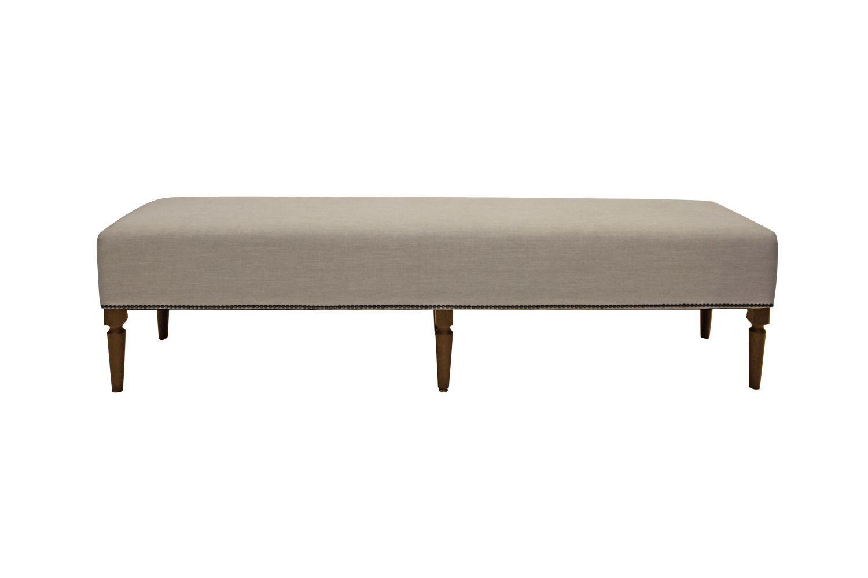 Dizajnová lavice Andrea 190 cm / kávová