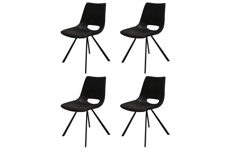 Designová židle Izabella / černá