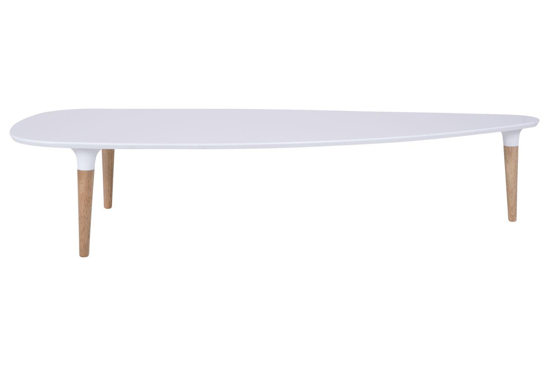 Konferenční stolek Marley 156 cm / bílá