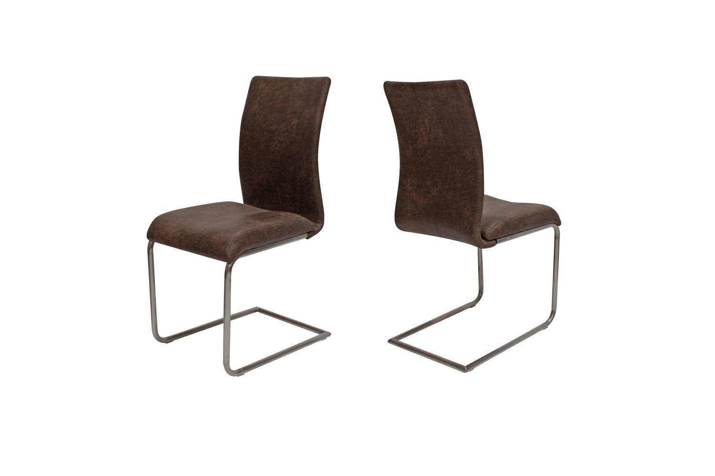 Jídelní židle Gwan / hnědá
