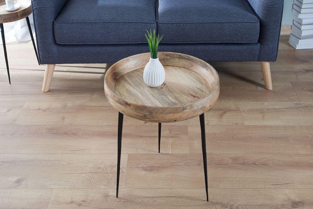 Konferenční stolek Natural / mango
