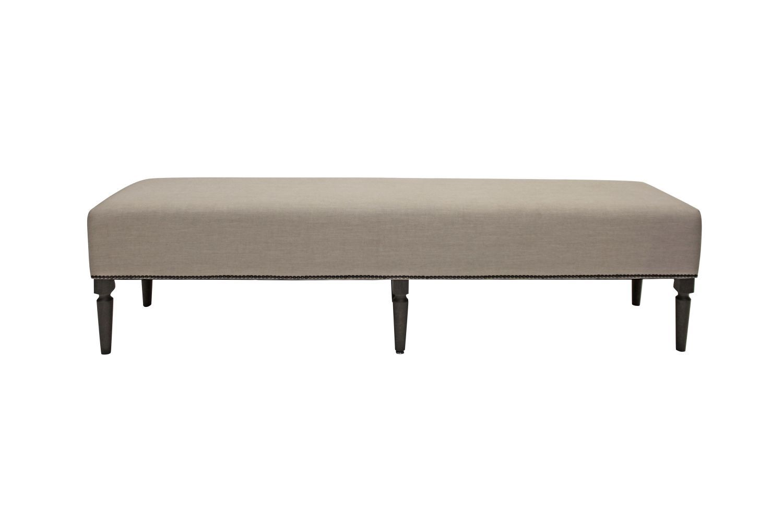 Dizajnová lavice Andrea 190 cm / dýmová