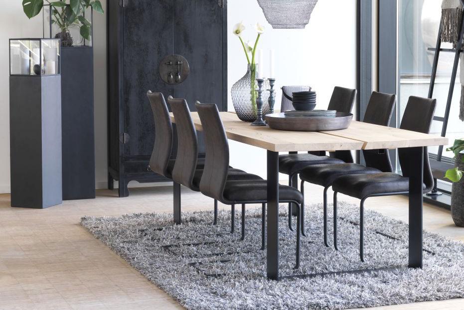 Jídelní židle Gwan / černá