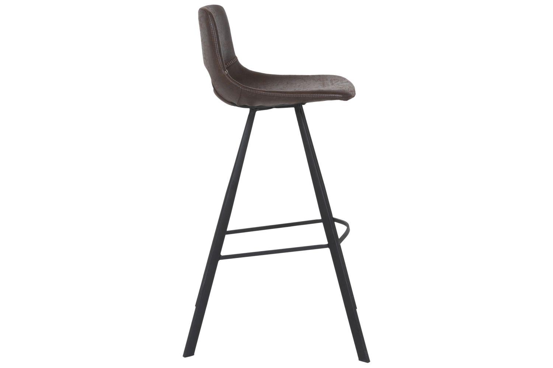 Barová židle Izabella 106 cm / tmavě hnědá