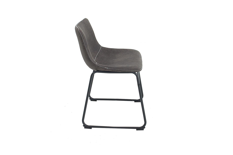 Dizajnová židle Alba / vintage šedá