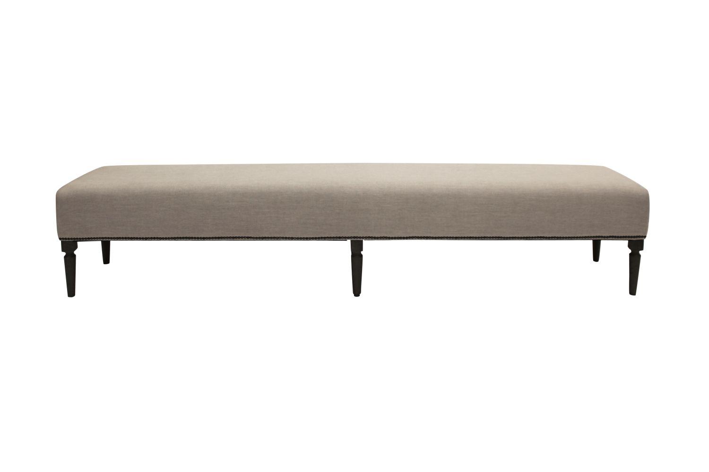 Dizajnová lavice Andrea 240 cm / dýmová