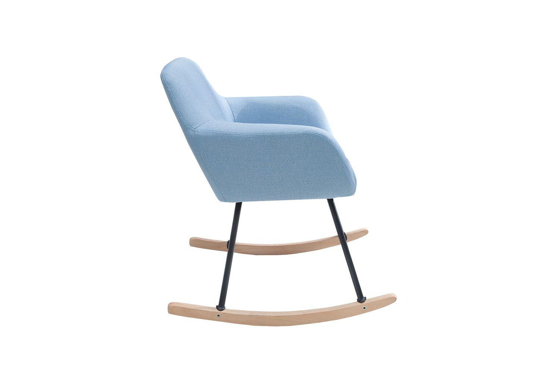 Designové houpací křeslo Levander / světle modrá