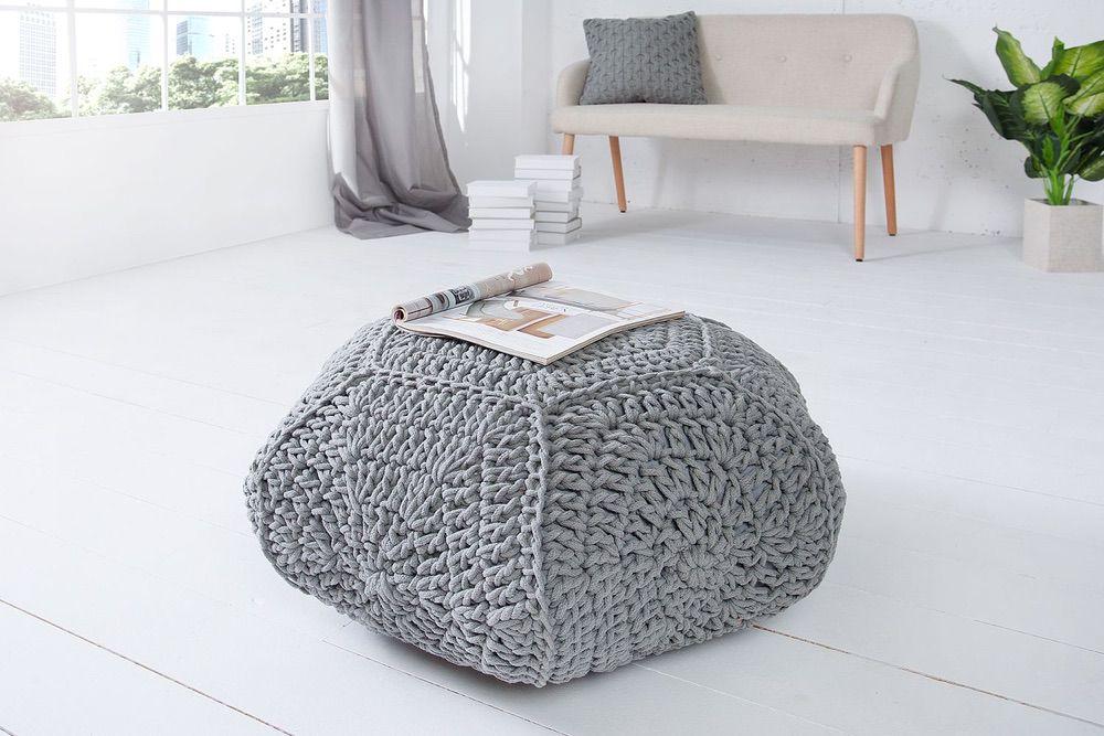 Designová taburetka Lilly II / šedá