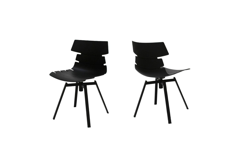 Designová židle Dollie II / černá