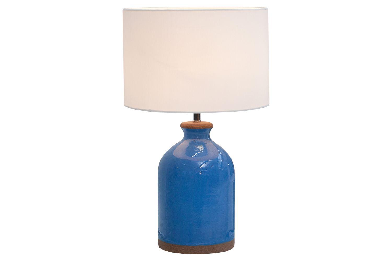 Stolní lampa Klasik 60 cm / modrá
