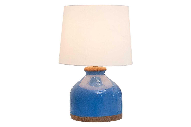 Stolní lampa Klasik 50 cm / modrá