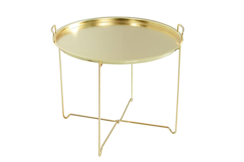 Konferenční stolek Maroko / zlatý