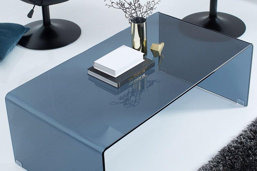 Konferenční stolek Phantom 110 cm / antracitová