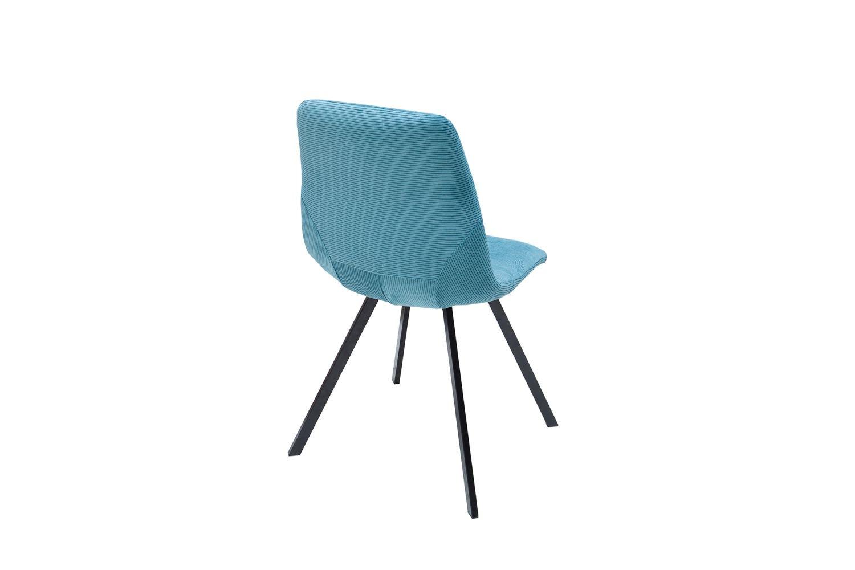 Designová stolička Rotterdam Retro / tyrkysová