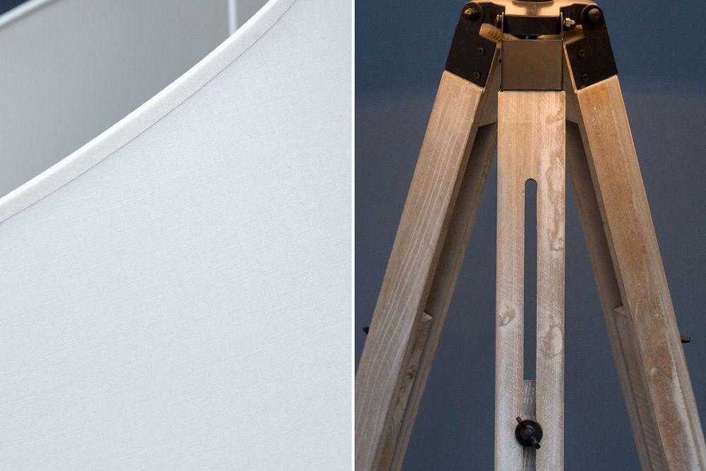 Stojanová lampa Rome 99-143 cm / béžová