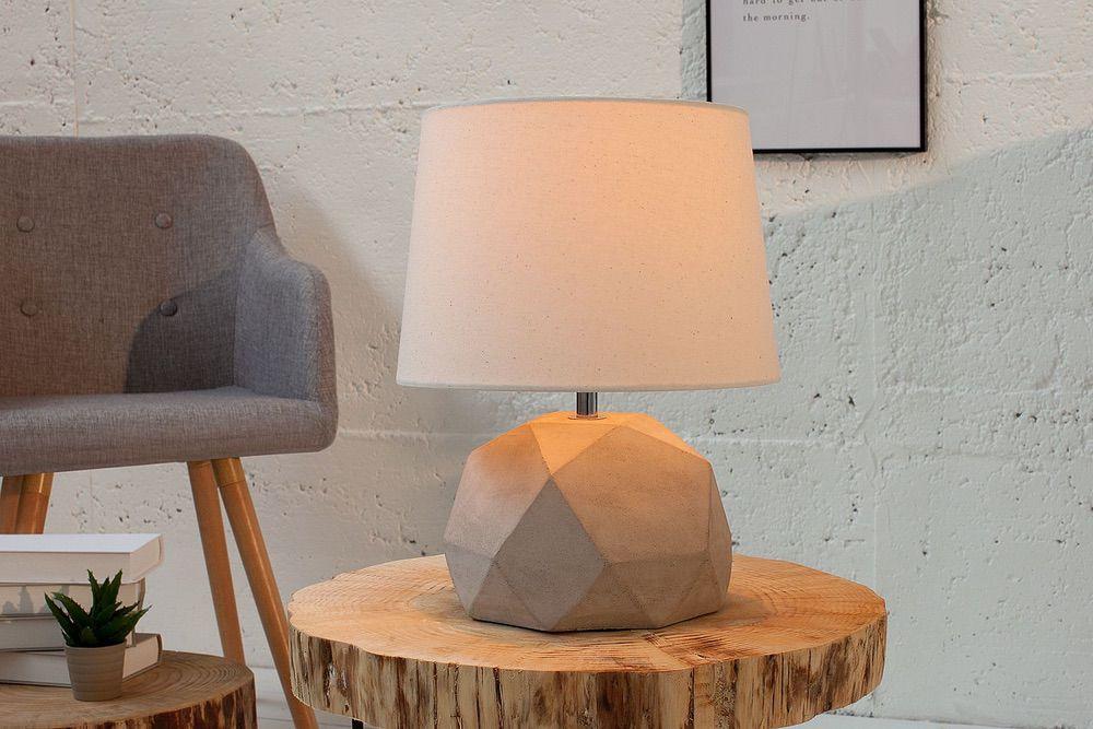 Stolní lampa Diamond / béžová