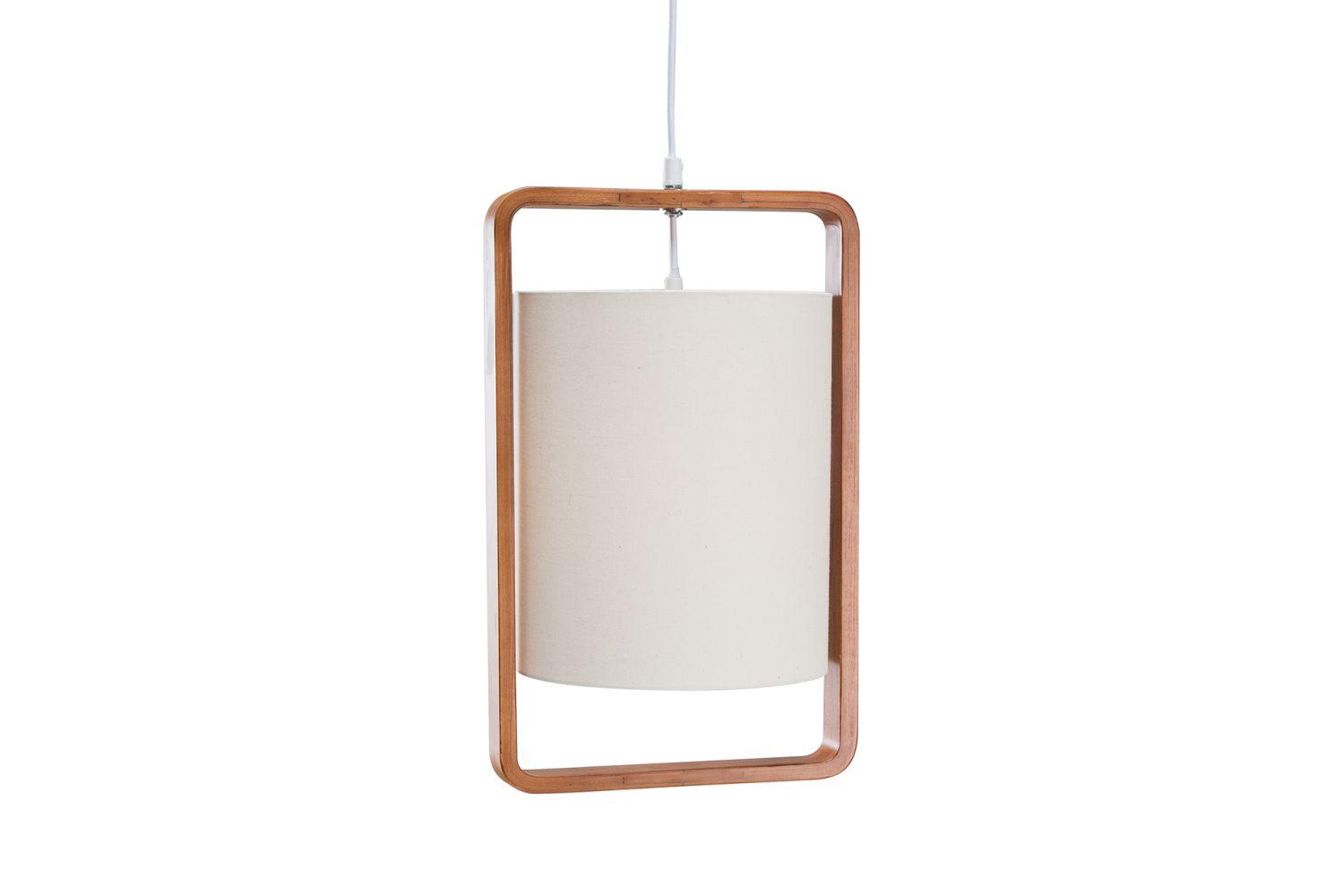 Závěsná lampa Sweden / přírodní