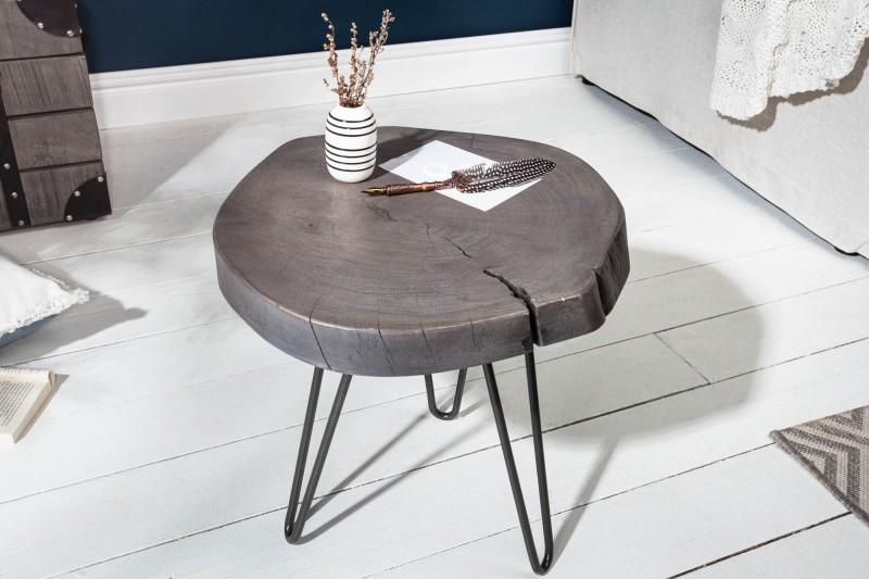 Odkládací stolek Island 43cm šedá akácie