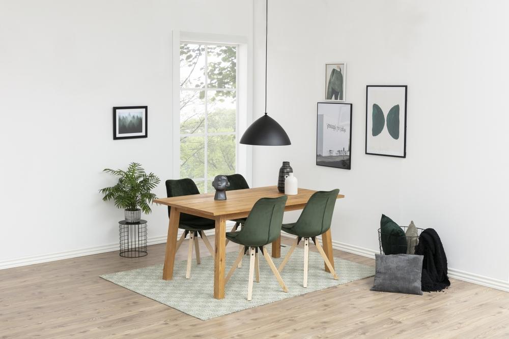Jídelní stůl Nadida 160 cm divoký dub