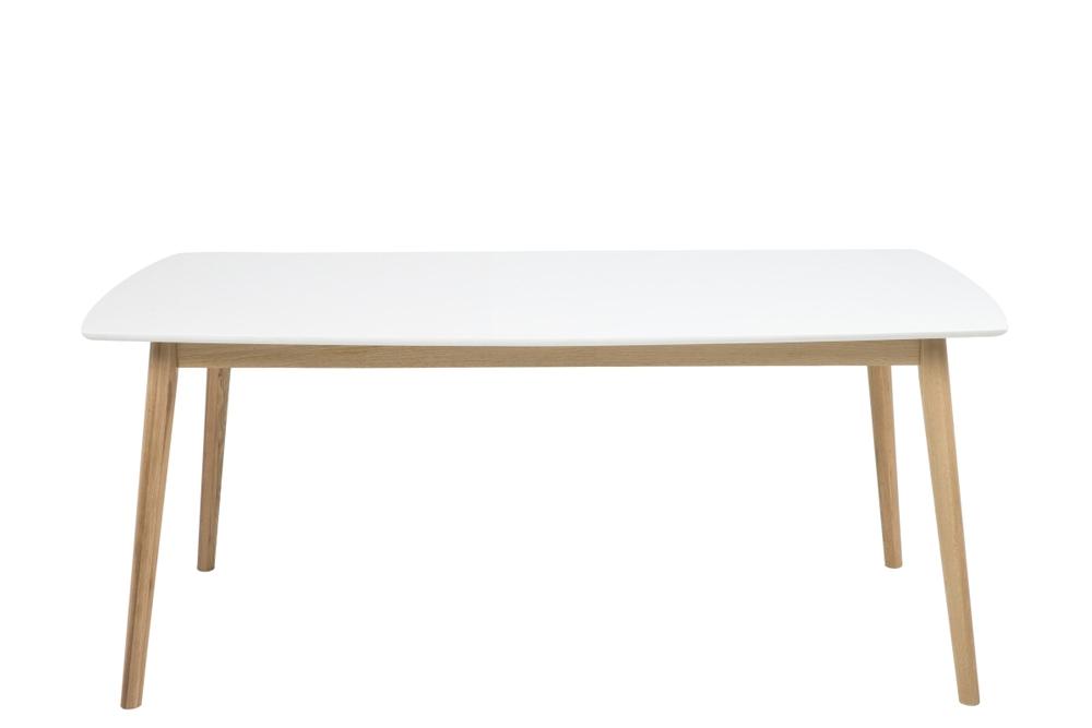 Jídelní stůl Naiara 180 cm dub bílý