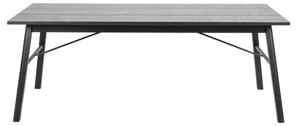 Jídelní stůl Neale 200 cm dub černý